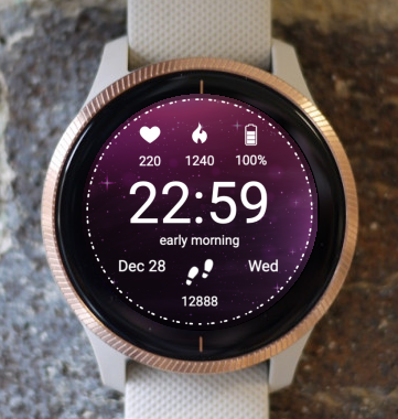 Garmin Watch Face - New Horizon