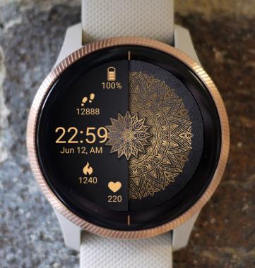 Garmin Watch Face - Circle G