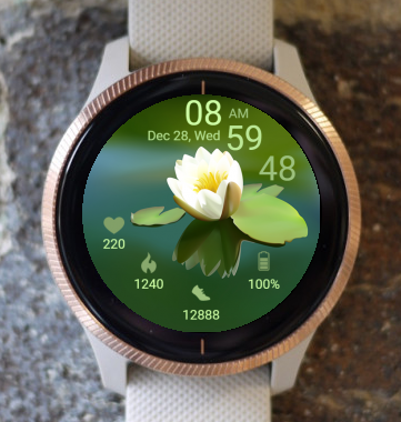 Garmin Watch Face - Lotus Four