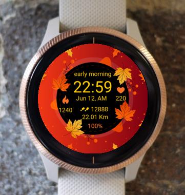Garmin Watch Face - Autumn Magic 11