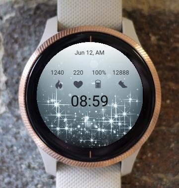 Garmin Watch Face - New Stars