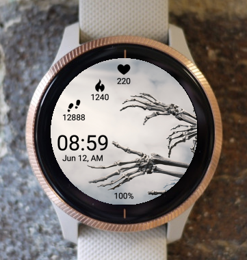 Garmin Watch Face - Zombie Three