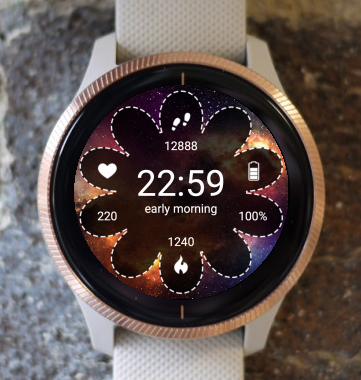Garmin Watch Face - Nebula