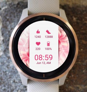 Garmin Watch Face - Pink Harmony
