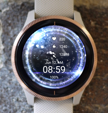 Garmin Watch Face - Focus