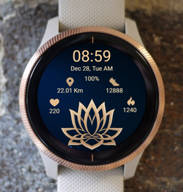 Garmin Watch Face - Lotus Six