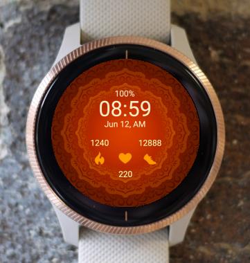 Garmin Watch Face - Mandala C16