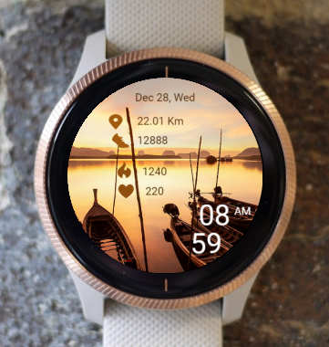 Garmin Watch Face - Boats