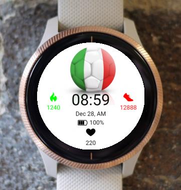 Garmin Watch Face - EC 2021 Italy