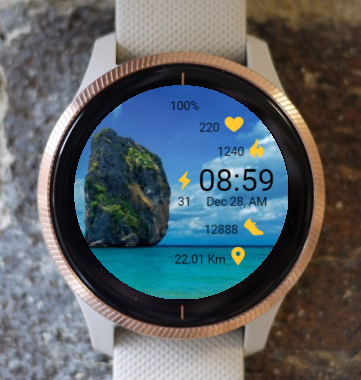 Garmin Watch Face - From The Sea