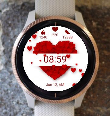 Garmin Watch Face - Love