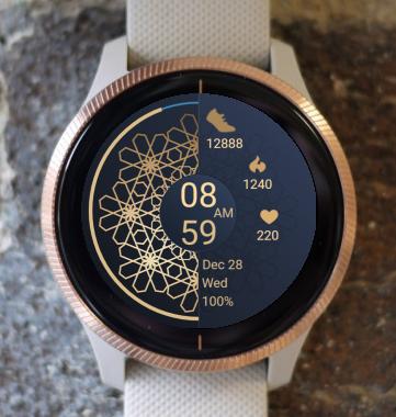 Garmin Watch Face - Mandala G12