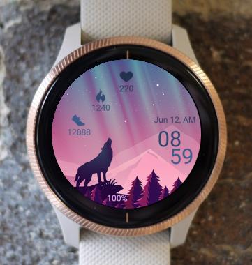 Garmin Watch Face - Nordic Light