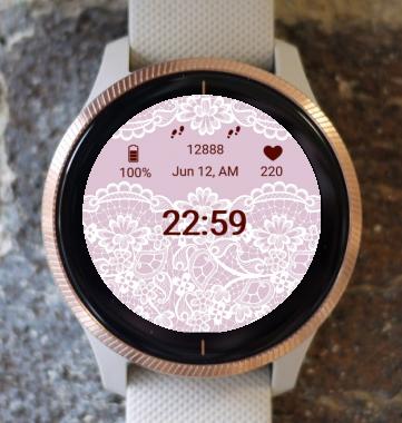 Garmin Watch Face - Lace Dream 02